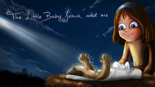 Little Baby Jesus & me
